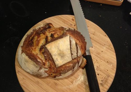 First loaf baked