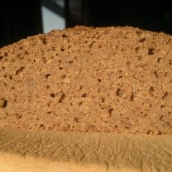 Buckwheat Pumpernickel - second loaf - crumb 2